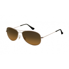 Ray Ban RB3362 Sunglasses Arista Frame Crystal Brown Gradient Green
