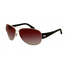 Ray Ban RB3467 Sunglasses Arista Frame Wine Red Gradient Lens