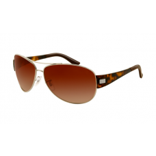 Ray Ban RB3467 Sunglasses Arista Frame Brown Gradient Lens
