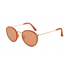 Ray Ban RB3475Q Sunglasses Red Frame Orange Red Crystal Lens