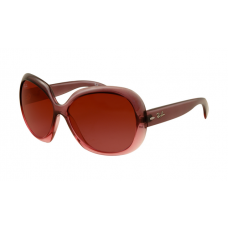 Ray Ban RB4098 Jackie Ohh II Sunglasses Wine Red Frame Wine Red Gradient Lens