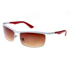 Ray Ban RB3459 sunglasses white / brown lens 1930