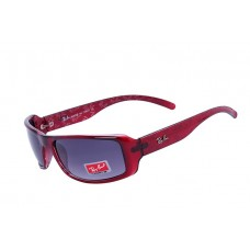 Ray Ban RB4199 sunglasses red 1930